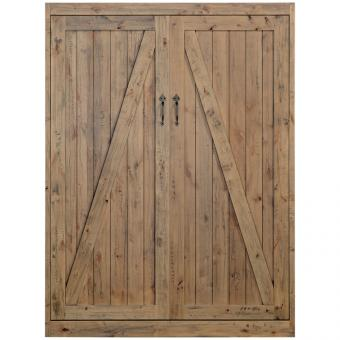 Barn Door Wall Bed