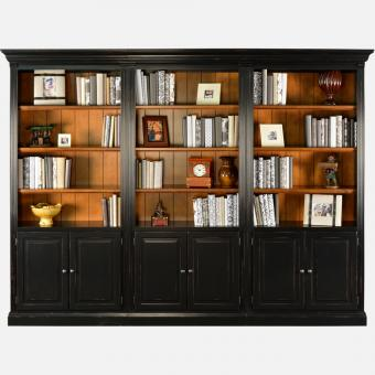 Library One-Piece Bookcases