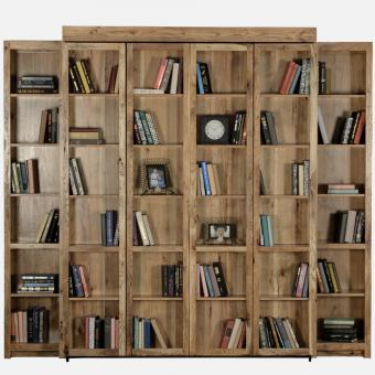 Bookcase Wall Bed Collection
