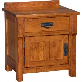 Nauvoo Nightstand, Hinged Left Stuart-David-Bedroom-Nauvoo-Nightstand-BN-759L-[87]-C.jpg